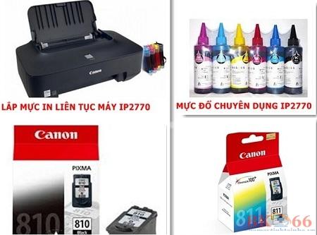 Máy in màu Canon IP 2770