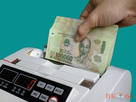 Máy in đếm tiền cũ giá rẻ