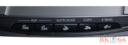 Nút điều khiển máy scan Canon Lide 210 cũ