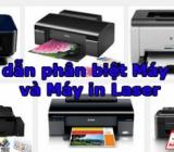 Nên chọn mua máy in phun màu hay máy in laser màu cũ???