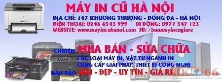 Bán máy in cũ giá rẻ tại Thanh Hóa