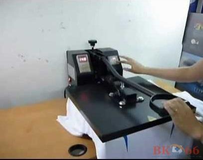 Hướng dẫn sử dụng máy ép nhiệt phẳng
