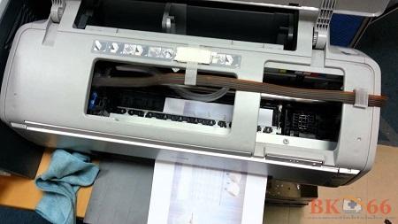 Lỗi máy in màu cũ