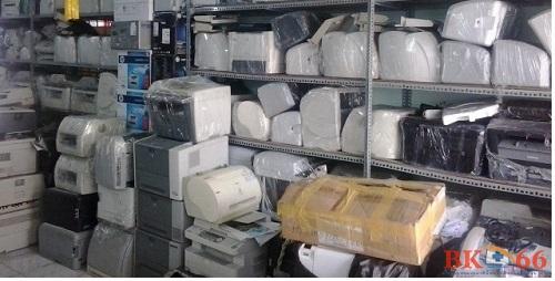 Hình ảnh máy in cũ tại kho của Bk66